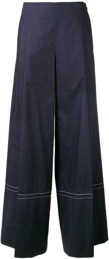 Sonia RykielSonia Rykiel flared trousers