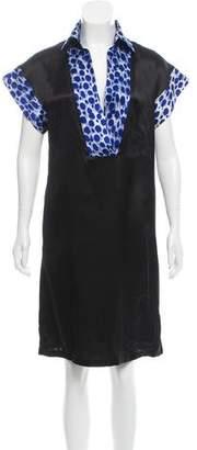 Just Cavalli Silk Satin Dress w/ Tags