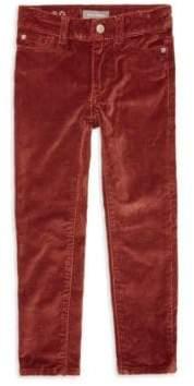 Chloé Girl's Crush 8 Skinny Vetvet Pants