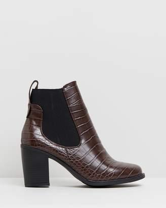 Bella Heeled Gusset Boots
