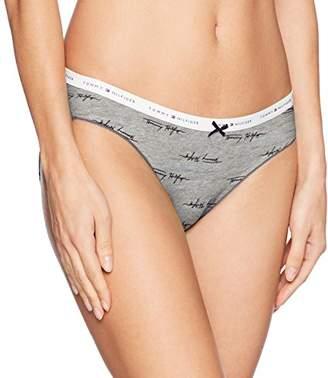 Tommy Hilfiger Women's Logo Elastic Bikini