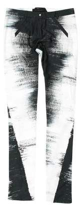 Jean-Pierre Braganza Digital Print Skinny Pants w/ Tags