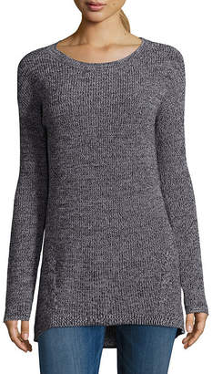 A.N.A Long Sleeve Round Neck Pullover Sweater