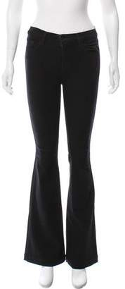 J Brand Maria Flare Mid-Rise Jeans