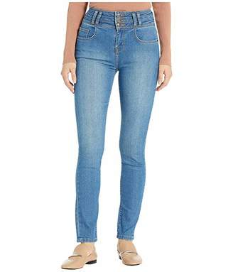 Current/Elliott The Pinball High-Waist Ankle Skinny Stiletto in Russey