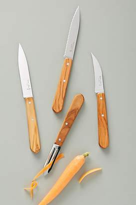 Anthropologie Olive Essential Knives, Set of 4