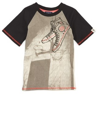 Toddler Boy's Andy & Evan Sneaker T-Shirt $34 thestylecure.com