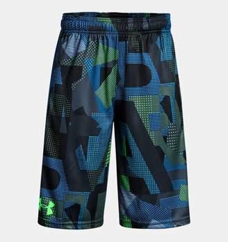 Under Armour Boys' UA Stunt Printed Shorts