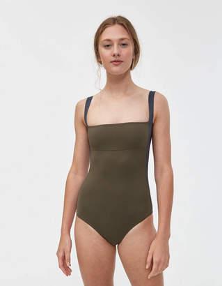 Laura Urbinati Tricolor One-Piece Swimsuit