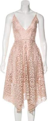 Nicholas Lace Midi Dress