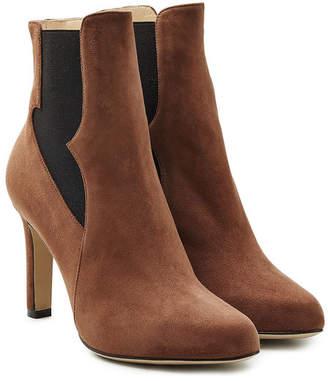 Paul Andrew Suede High Heel Chelsea Boots