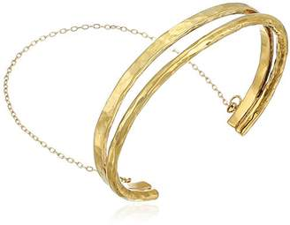 Soko Double Delicate Chain Bangle Bracelet