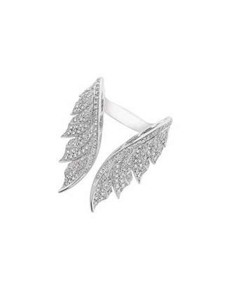 Stephen Webster Magnipheasant White Diamond Open Wing Ring $12,000 thestylecure.com