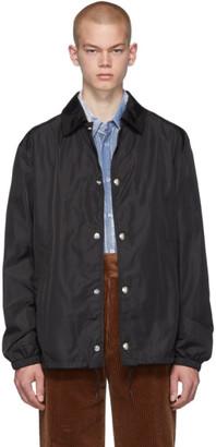Givenchy Black Coach Jacket