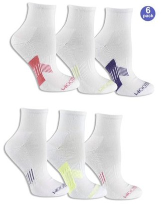Fruit of the Loom Women's Everyday Active Ankle Socks 6 Pack