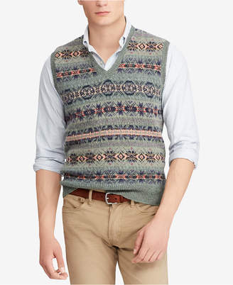 Polo Ralph Lauren Men's Fair Isle Vest