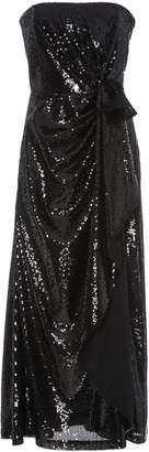 Strapless Side Gathered Ruffle Dress