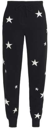Chinti and Parker Intarsia Cashmere Tapered Pants