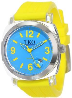 TKO ORLOGI Women's TK558-YL Milano Junior Acrylic Case Blue Dial Watch