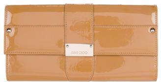 Jimmy ChooJimmy Choo Patent Leather Flap Clutch