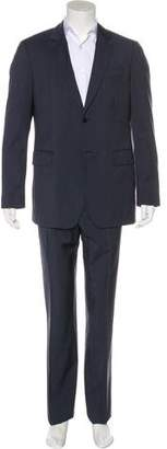 Burberry Pinstripe Two-Piece Suit