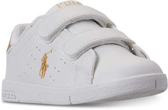 Polo Ralph Lauren Toddler Boys' Finney Ez Casual Sneakers from Finish Line