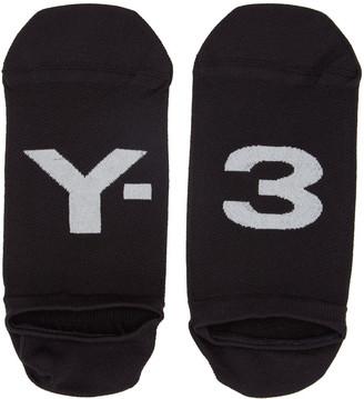 Y-3 Black Invisible Logo Socks $30 thestylecure.com
