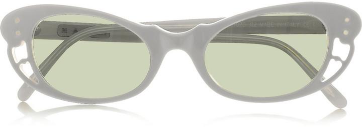Marni Cat eye acetate sunglasses