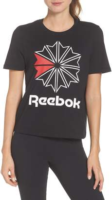 Reebok Starcrest Logo Cotton Tee