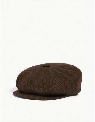 0ff20ab22f5 Brown Herringbone Hat - ShopStyle