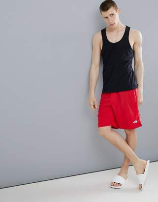 The North Face Class V Water Swim Shorts In Red