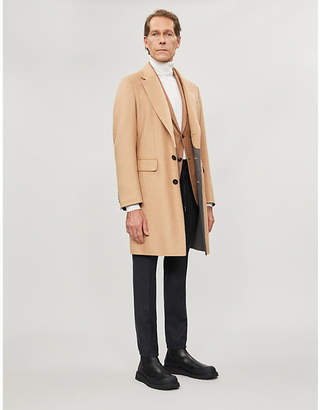 Ermenegildo Zegna Regular-fit wool, cashmere and silk-blend coat