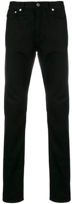 Givenchy logo panel straight leg jeans