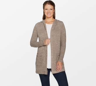 Barefoot Dreams Cozychic Lite Resort Cardi with Hood