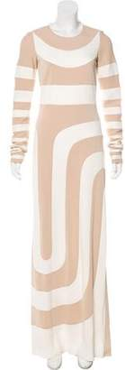 Marc Jacobs Intarsia Striped Dress