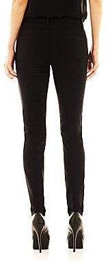 JCPenney Bisou Bisou® Embroidered Skinny Jeans