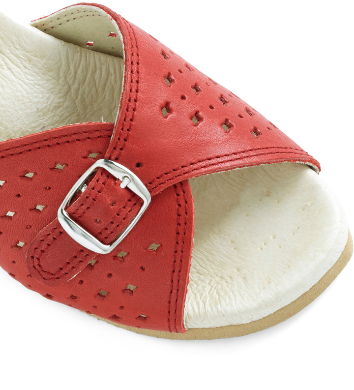 Worishofer View of the Sea Sandal in Red