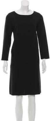 Salvatore Ferragamo Wool Knee-Length Dress