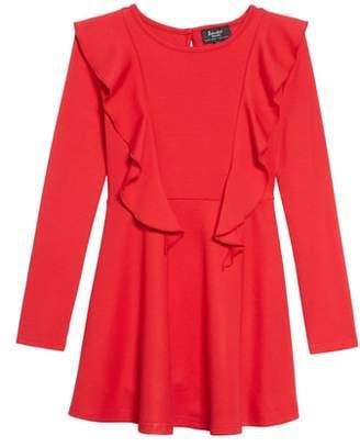 Bardot Junior Louis Knit Ruffle Dress