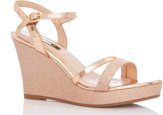 3d88f93deb8b Glitter Wedge Heels - ShopStyle Canada