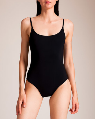 Karla Colletto Basic Shelf Bra Low Back Swimsuit