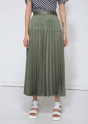 Junya Watanabe Pleated Maxi Skirt
