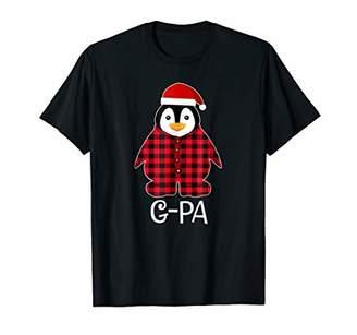 G-Pa Penguin Pajamas Ugly Family Christmas Season Tshirt