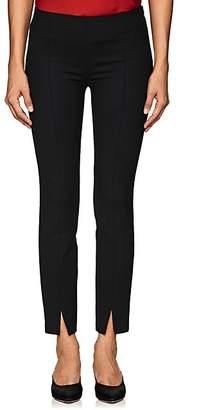 The Row Women's Sorocco Virgin Wool Mid-Rise Pants - Black