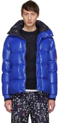 Moncler 2 1952 Blue Down Dervaux Jacket