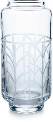 Tiffany & Co. Wheat Leaf baluster vase