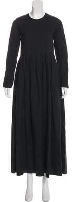 Hache Linen Blend Dress