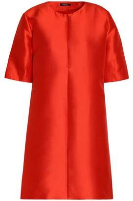 Raoul Silk-Blend Duchesse-Satin Mini Dress
