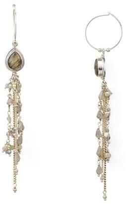 Chan Luu Cultured Freshwater Pearl Linear Drop Earrings
