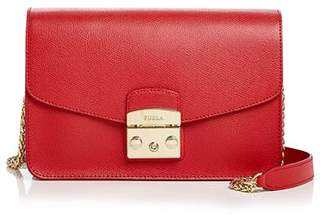 Furla Metropolis Small Leather Shoulder Bag
